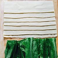 【豆皮蔬菜卷】把路边摊做成私房菜~ 家庭版铁板烤串的做法图解2