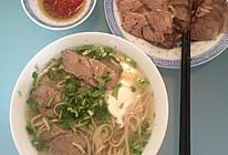 牛肉汤面的做法