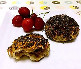 老北京椒盐芝麻酱芝麻饼的做法