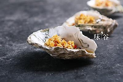 简单易做的蒜蓉烤生蚝