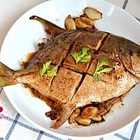 红烧鲳鱼的做法图解10