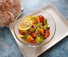 牛油果芒果番茄沙拉#节后清肠大作战#的做法