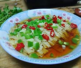 蒜蓉蒸金针菇#2018年我学会的一道菜#的做法