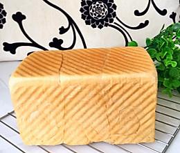 练奶中种土司面包的做法