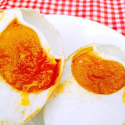 详细图解--流油咸鸭蛋
