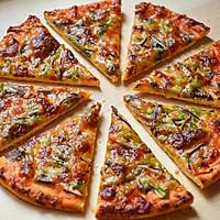 脆底蘑菇披萨的做法图解12