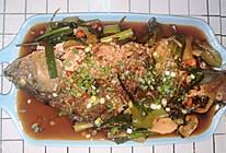 家常版皮脆肉嫩红烧鱼的做法