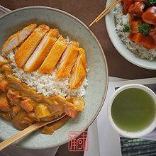 三分半的时间,做好一份双人餐,日式咖喱鸡排饭、日式番茄牛腩饭