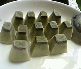 抹茶冰块的做法