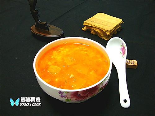 节后清肠进行时:胡萝卜南瓜糙米粥