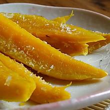 奶香红薯条#美的微波炉菜谱#