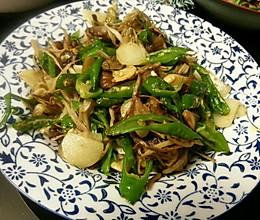 干煸茶树菇的做法