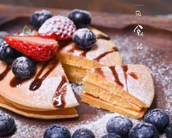 草莓松饼 日食记