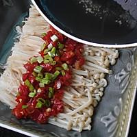 剁椒金针菇 #美极鲜味汁#的做法图解6