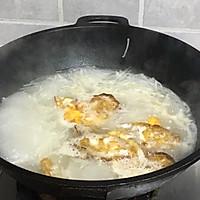 #新春美味菜肴#荷包蛋萝卜丝汤的做法图解5