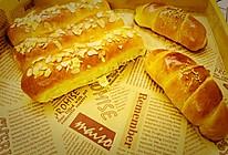超软汤种醇奶排包&芝士牛角包 少油版的做法