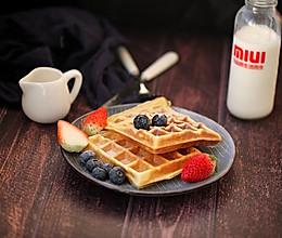 华夫饼#换着花样吃早餐#的做法