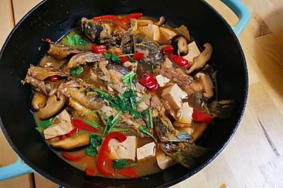 鱼与豆腐鲜美加倍,嘎鱼炖豆腐