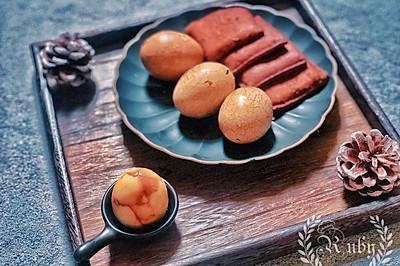 怀旧美食-茶叶蛋&豆腐干