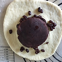 欧式风格的叶子状三角豆沙包,馅料超级足的做法图解12