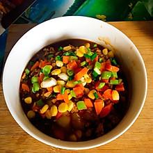 蔬菜肉沫土豆泥