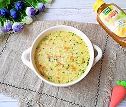 #太太乐鲜鸡汁玩转健康快手菜#鸡汁蔬菜豆腐羹的做法