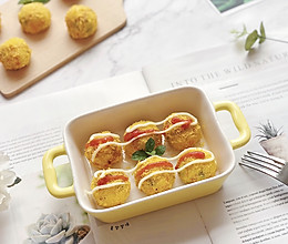 #童年不同样,美食有花样#黄金芝士土豆球(简单快手)的做法