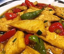 超级下饭的香煎豆腐的做法