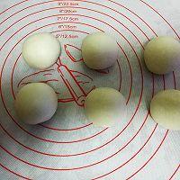 彩虹蛋黄酥的做法图解2