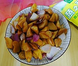 三杯杏鲍菇的做法