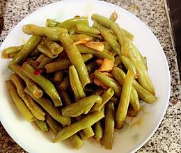 无茎豆回锅的做法
