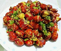 蒜蓉椒香小龙虾尾的做法