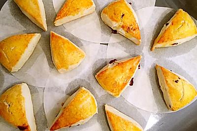 蔓越莓司康饼
