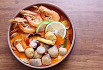 泰式冬阴功汤,让你意想不到的减肉利器。的做法