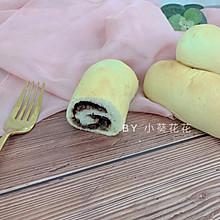 早餐小面包-奶香红豆卷