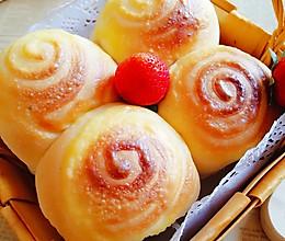 卡仕达酱小面包(一次性发酵)的做法