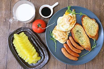 早餐主食之蒜香法棍