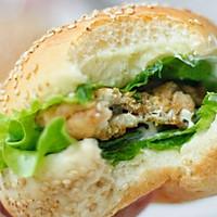 香辣鸡腿汉堡(含面包胚的制作)的做法图解25
