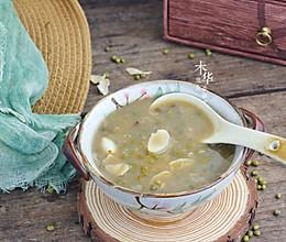 #做道懒人菜,轻松享假期#百合绿豆汤的做法