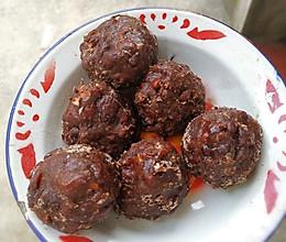 红豆红枣粘豆包的做法