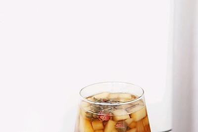苹果玫瑰热红茶