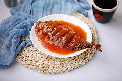 红烧糖醋鱼