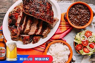 Pernil烤肉 | 国内少见的南美州硬菜