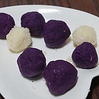 南瓜紫薯早餐包的做法图解5