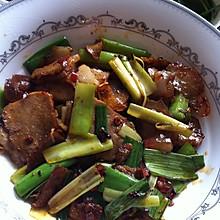 蒜苗炒回锅肉