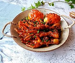 #肉食者联盟#秘制肉蟹煲的做法