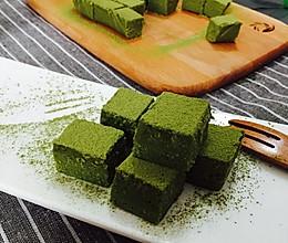 mocha nama chocolate(抹茶生巧克力)的做法