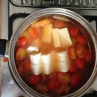 饱腹又美味的减肥汤-蕃茄豆腐汤的做法图解4