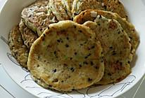 豆渣饼、葱花豆渣饼的做法