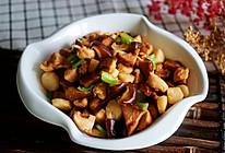山药香菇小炒肉的做法